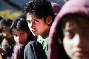 Children on the LoC in Indian-administered Kashmir