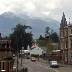 Ben Ledi over Callander