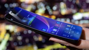 LG Electronics' G Flex phone claims to be the worlds first curved flexible smartphone, and features a 6-inch P-OLED screen. A self-healing coating allows it to recover from scratches to the exterior, the company says.