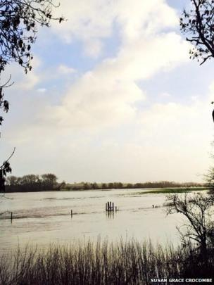 The Stour in Dorset (taken by Twitter user Susan Grace Crocombe)