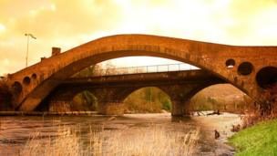 Pontypridd's Old and Victoria Bridges