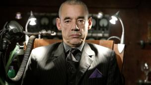 Roger Lloyd Pack as John Lumic in Rise of the Cybermen