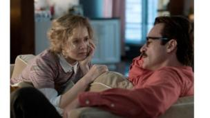 Amy Adams and Joaquin Phoenix in Her