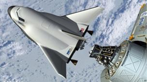 An artists impression of the Dream Chaser