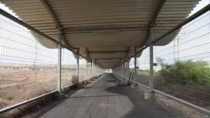 Erez Crossing walk