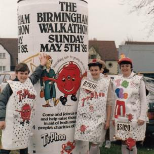 Walkathon in 1985