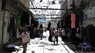 Hebron Palestine streets