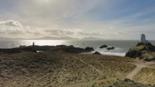 Llanddwyn beach, near Newborough, Anglesey