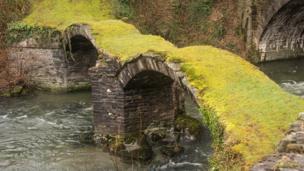 Pont Minllyn, Gwynedd