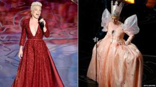 Pink and Ellen DeGeneres