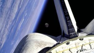 Moon in the sky or CGI?