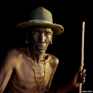 Sampulen, a senior elder of the Samburu people