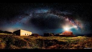 Starry Lighthouse by Ivan Pedretti, Italy, Winner, Open Panoramic, 2014 Sony World Photography Awards