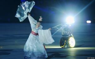 Dancer from South Korea