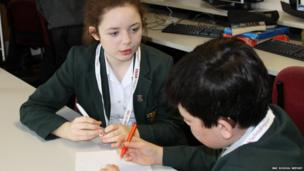 St Benedict's school students plan for News Day