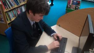 Uckfield Community Technology College School Reporter Harry
