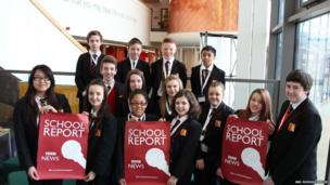 Fourteen students at All Saints Academy, Cheltenham did an amazing job being journalists for the day.