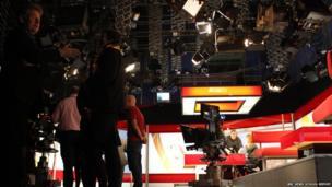 People in studio