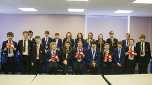 Stainburn School and Science College on News Day 2014.