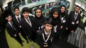 The School Report team from Essa Academy.