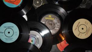 Over time records evolved and stopped being made out of glass. Instead they were made out of plastic and could easily be mass produced. But they were easily broken as the vinyl plastic used wasn't very strong.