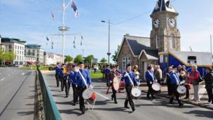 Guernsey Liberation Day Parade