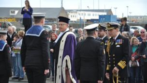 Guernsey Liberation Day Parade inspection