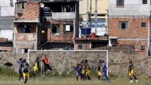 Amateur footballers in Sao Paulo