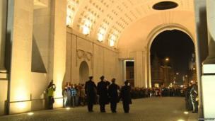 The Menin Gate ceremony