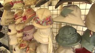 Locally made hats