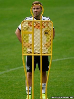 German footballer Mario Gotze