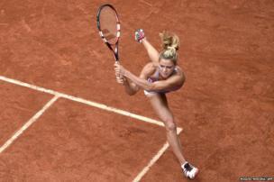 tennis player Camila Giorgi