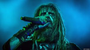 Rob Zombie performs on Alternastage during third day of Rock im Park at Zeppelinfeld in Nuremberg, Germany. 8 June 2014