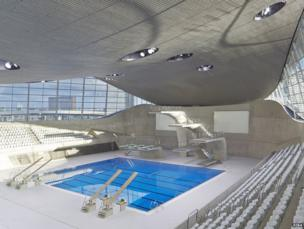 London Aquatics Centre by Hufton Crow