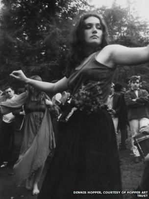 Hippie Girl Dancing, 1967