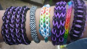 Loom band creations