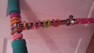 Loom band creations
