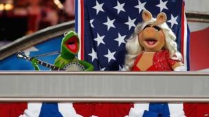 Muppets rehearse in Washington
