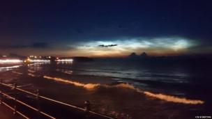 Noctilucent cloud