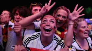 Germany fans rejoice