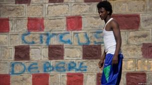 Stiltwalker Ashenafi Dereje