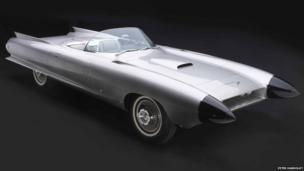 Cadillac Cyclone XP-74, 1959. Designed by Harley J. Earl and Carl Renner. Courtesy of General Motors Heritage Center, Warren, Michigan.