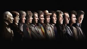 All twelve Doctors (1963 - 2013)