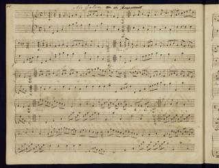Jane Austen sheet music