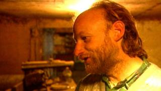 Robert William Pickton is shown in this undated image from a television screen