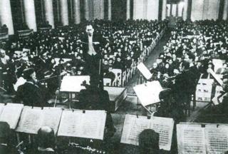 Karl Eliasberg conducting on 9 August 1942