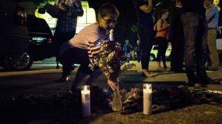 Orlando shootings vigil
