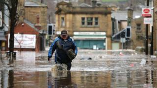 flooding in Hebden Bridge