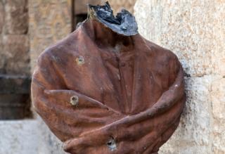 Headless bust of Al-Maarri
