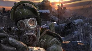 Screen squeeze from Metro 2033